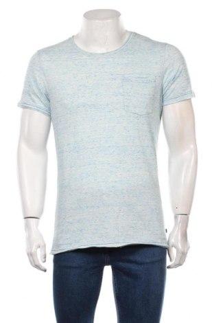 Мъжка тениска Q/S by S.Oliver, Размер M, Цвят Син, 65% памук, 35% полиестер, Цена 21,60лв.