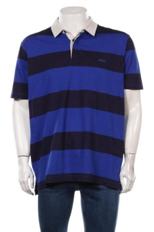 Мъжка тениска S.Oliver, Размер XL, Цвят Син, Памук, Цена 44,25лв.