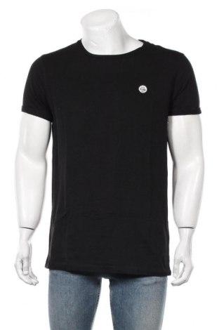 Мъжка тениска Scotch & Soda, Размер L, Цвят Черен, Памук, Цена 31,50лв.