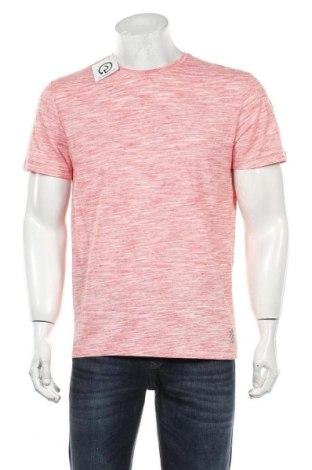 Мъжка тениска Tom Tailor, Размер M, Цвят Червен, 85% памук, 15% полиестер, Цена 27,30лв.