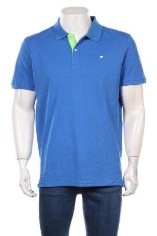 Мъжка тениска Tom Tailor, Размер XL, Цвят Син, Памук, Цена 29,25лв.