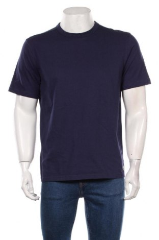 Мъжка тениска Tom Tailor, Размер M, Цвят Син, 73% памук, 27% полиестер, Цена 24,36лв.