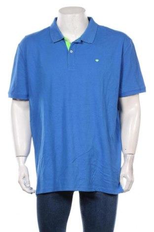 Мъжка тениска Tom Tailor, Размер 3XL, Цвят Син, Памук, Цена 36,75лв.