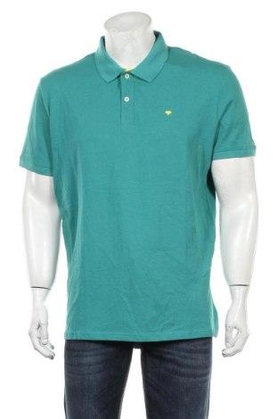 Męski T-shirt Tom Tailor, Rozmiar XL, Kolor Zielony, Bawełna, Cena 85,75zł