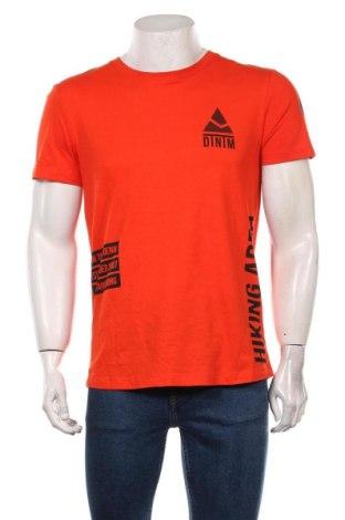 Мъжка тениска Tom Tailor, Размер M, Цвят Оранжев, Памук, Цена 19,00лв.
