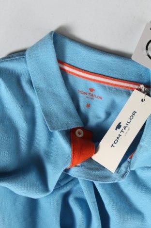 Мъжка тениска Tom Tailor, Размер M, Цвят Син, Памук, Цена 26,95лв.
