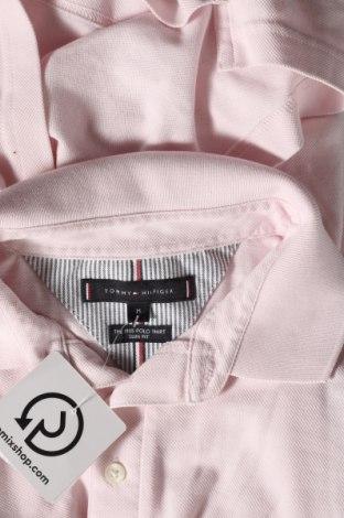 Мъжка тениска Tommy Hilfiger, Размер M, Цвят Розов, Памук, Цена 55,50лв.