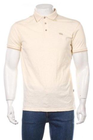 Мъжка тениска Victorio & Lucchino, Размер L, Цвят Екрю, Памук, Цена 29,25лв.