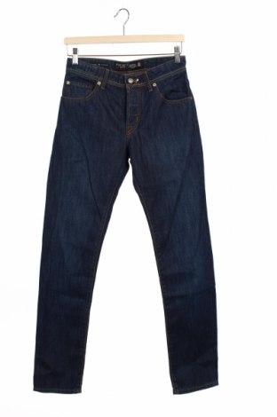 Мъжки дънки Hackett, Размер S, Цвят Син, Памук, Цена 121,37лв.