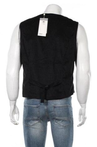 Мъжки елек RNT23 Jeans, Размер L, Цвят Черен, Полиестер, Цена 47,17лв.