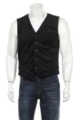 Мъжки елек RNT23 Jeans, Размер M, Цвят Черен, Полиестер, Цена 47,17лв.