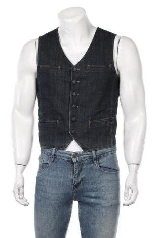 Мъжки елек Zara Man, Размер S, Цвят Син, Цена 19,32лв.