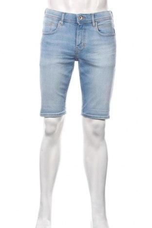 Мъжки къс панталон Esprit, Размер M, Цвят Син, 78% памук, 20% полиестер, 2% еластан, Цена 19,50лв.