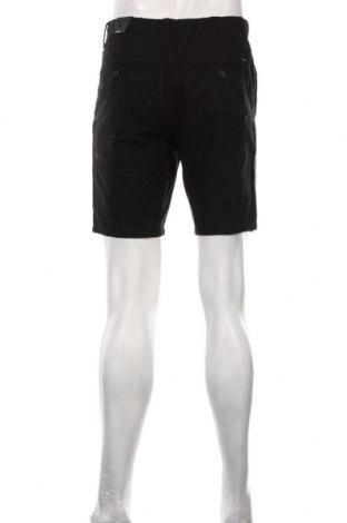 Мъжки къс панталон Only & Sons, Размер M, Цвят Черен, 55% памук, 45% лен, Цена 32,45лв.