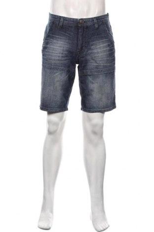 Мъжки къс панталон S.Oliver, Размер M, Цвят Син, 99% памук, 1% еластан, Цена 34,22лв.