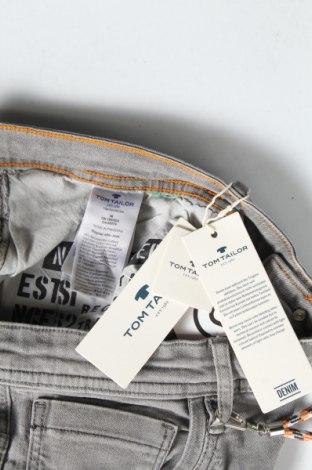 Мъжки къс панталон Tom Tailor, Размер XL, Цвят Сив, 98% памук, 2% еластан, Цена 41,30лв.