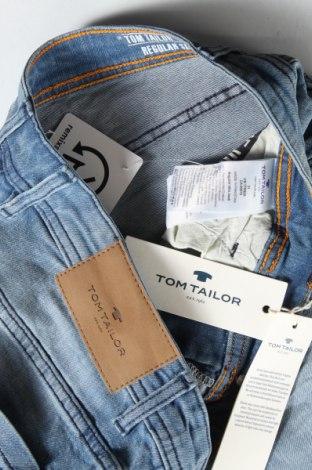 Мъжки къс панталон Tom Tailor, Размер M, Цвят Син, 98% памук, 2% еластан, Цена 34,22лв.