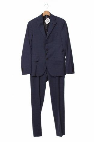 Costum de bărbați Tommy Hilfiger, Mărime S, Culoare Albastru, 65% poliester, 35% bumbac, Preț 703,79 Lei