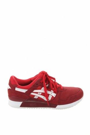 Мъжки обувки ASICS, Размер 42, Цвят Червен, Текстил, еко кожа, Цена 103,35лв.