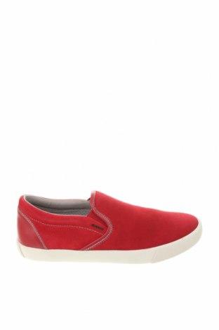 Ανδρικά παπούτσια Geox, Μέγεθος 40, Χρώμα Κόκκινο, Φυσικό σουέτ, Τιμή 68,19€