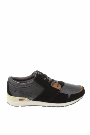 Ανδρικά παπούτσια Levi's, Μέγεθος 43, Χρώμα Μαύρο, Κλωστοϋφαντουργικά προϊόντα, δερματίνη, φυσικό σουέτ, Τιμή 47,91€