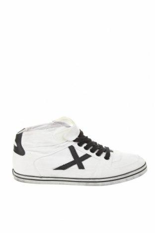 Ανδρικά παπούτσια Munich, Μέγεθος 42, Χρώμα Λευκό, Κλωστοϋφαντουργικά προϊόντα, Τιμή 35,57€