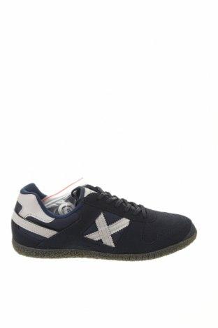 Ανδρικά παπούτσια Munich, Μέγεθος 42, Χρώμα Μπλέ, Φυσικό σουέτ, κλωστοϋφαντουργικά προϊόντα, Τιμή 50,16€