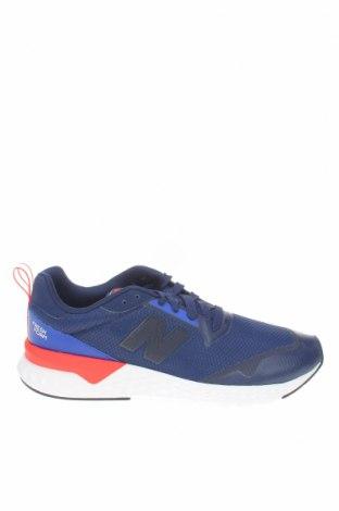 Ανδρικά παπούτσια New Balance, Μέγεθος 43, Χρώμα Μπλέ, Κλωστοϋφαντουργικά προϊόντα, δερματίνη, Τιμή 50,75€