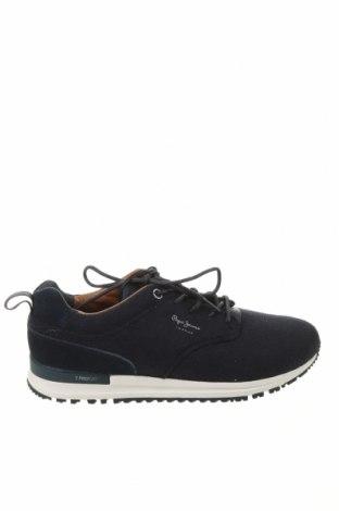 Ανδρικά παπούτσια Pepe Jeans, Μέγεθος 42, Χρώμα Μπλέ, Κλωστοϋφαντουργικά προϊόντα, Τιμή 47,91€