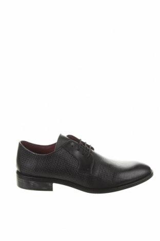 Ανδρικά παπούτσια Son Castellanisimos, Μέγεθος 44, Χρώμα Μαύρο, Γνήσιο δέρμα, Τιμή 64,59€
