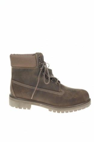 Ανδρικά παπούτσια Timberland, Μέγεθος 44, Χρώμα Καφέ, Γνήσιο δέρμα, κλωστοϋφαντουργικά προϊόντα, Τιμή 96,11€