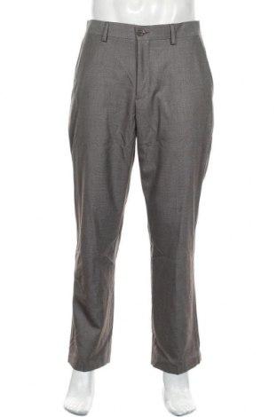 Мъжки панталон DKNY Jeans, Размер L, Цвят Сив, 80% полиестер, 20% вискоза, Цена 24,70лв.