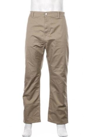 Мъжки панталон Edwin, Размер XL, Цвят Бежов, 46% памук, 16% полиестер, 38% други тъкани, Цена 77,76лв.