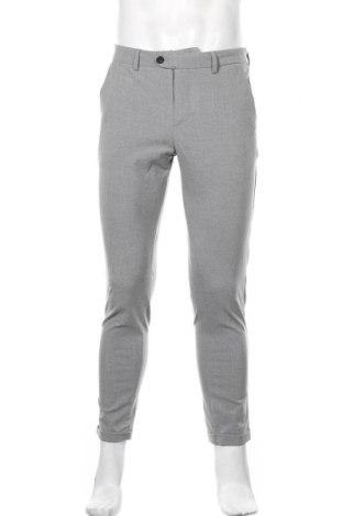 Мъжки панталон Jack & Jones, Размер M, Цвят Сив, 69% полиестер, 29% вискоза, 3% еластан, Цена 50,84лв.