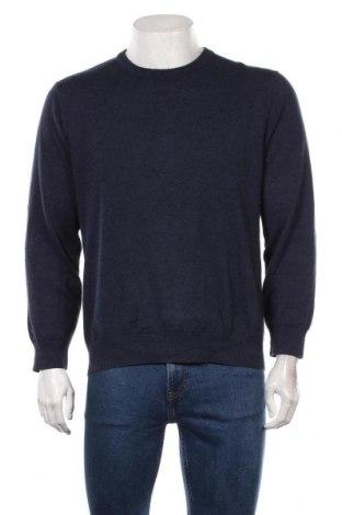 Мъжки пуловер A.W.Dunmore, Размер M, Цвят Син, Цена 22,05лв.