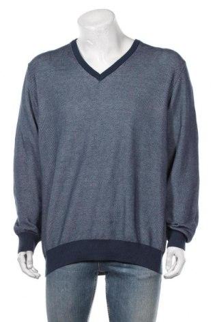Мъжки пуловер Hackett, Размер XXL, Цвят Син, Цена 21,84лв.