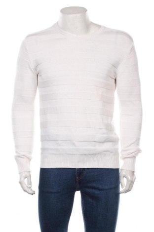 Pulover de bărbați John Devin, Mărime S, Culoare Alb, 50% poliacrilic, 50% bumbac, Preț 81,90 Lei