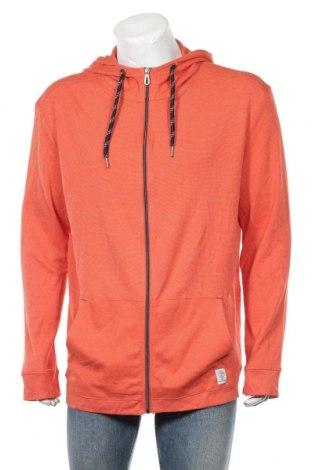 Męska bluza Tom Tailor, Rozmiar 3XL, Kolor Pomarańczowy, 83% bawełna, 17% poliester, Cena 118,00zł
