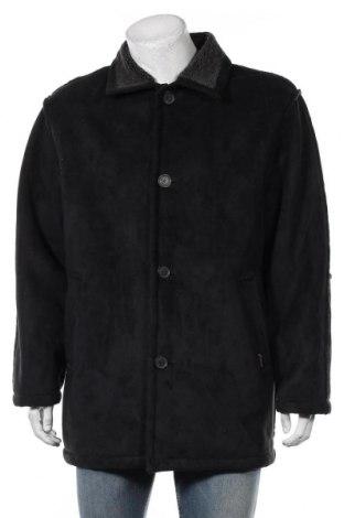 Мъжко палто, Размер L, Цвят Сив, Полиестер, Цена 13,19лв.