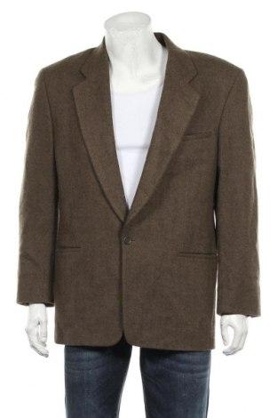 Мъжко сако, Размер L, Цвят Зелен, Вълна, Цена 7,61лв.