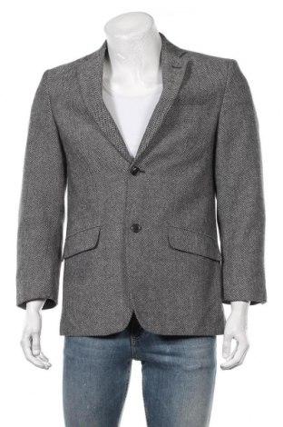 Мъжко сако, Размер S, Цвят Сив, Цена 13,70лв.