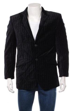 Мъжко сако Batistini, Размер M, Цвят Син, 98% памук, 2% еластан, Цена 16,07лв.