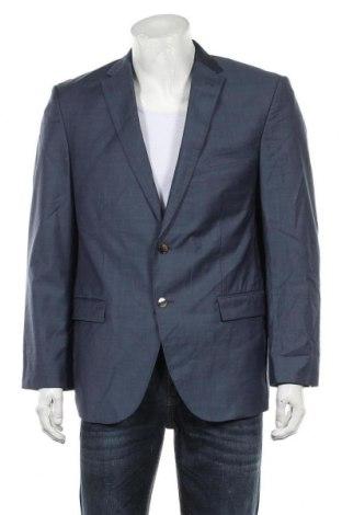 Мъжко сако Baumler, Размер L, Цвят Син, 98% вълна, 2% полиамид, Цена 55,50лв.
