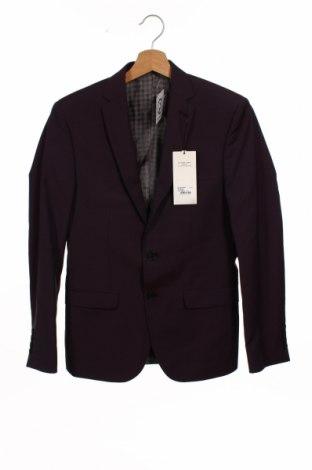 Мъжко сако Ben Sherman, Размер S, Цвят Лилав, 95% вълна, 5% мохер, Цена 48,42лв.