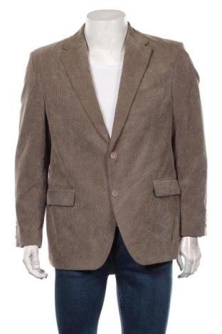Мъжко сако Canda, Размер L, Цвят Бежов, 90% полиестер, 10% полиамид, Цена 25,88лв.