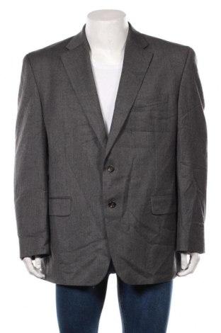 Мъжко сако Chaps, Размер S, Цвят Сив, Вълна, Цена 27,67лв.