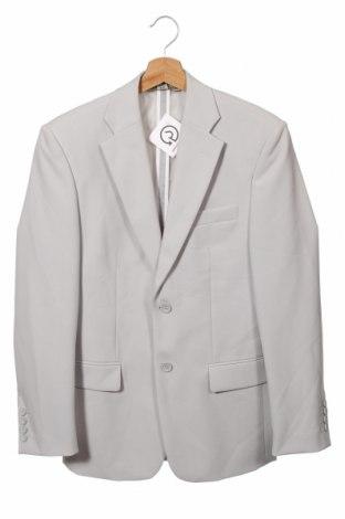 Мъжко сако Clockhouse, Размер XS, Цвят Сив, 100% полиестер, Цена 22,68лв.
