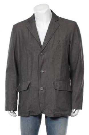 Мъжко сако H&M L.O.G.G., Размер L, Цвят Кафяв, Памук, Цена 13,23лв.