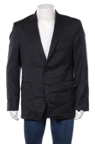 Мъжко сако Hugo Boss, Размер XL, Цвят Син, Вълна, Цена 105,84лв.