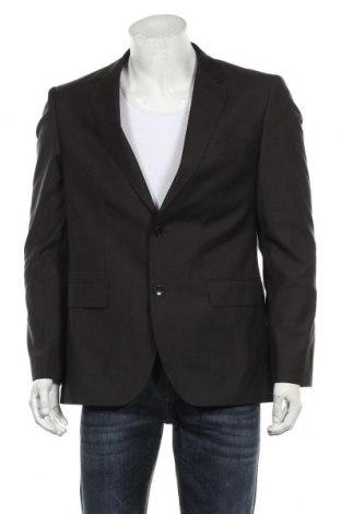 Мъжко сако Hugo Boss, Размер L, Цвят Кафяв, 80% вълна, 20% коприна, Цена 29,40лв.